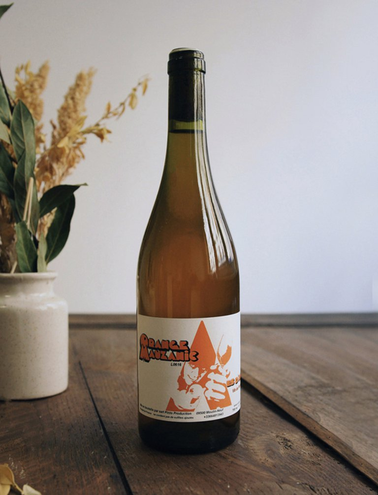 Orange Mauzanic blanc 2017, Jean-Louis Pinto