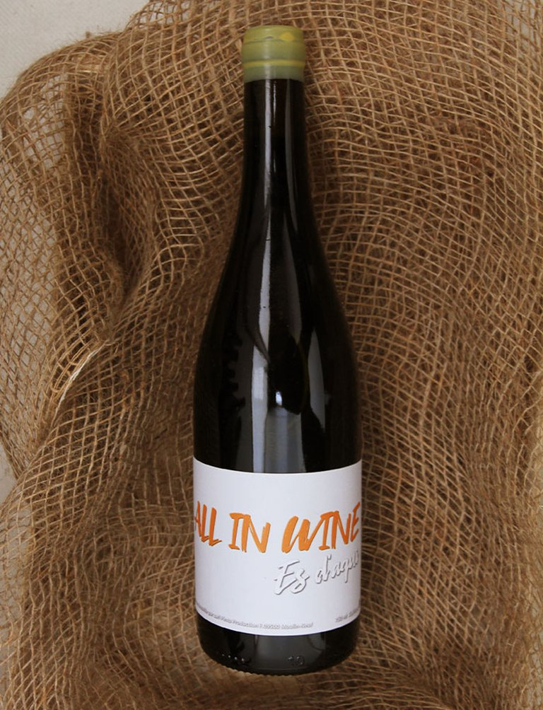 All In Wine Rouge 2018, Es d'aqui Jean Louis Pinto