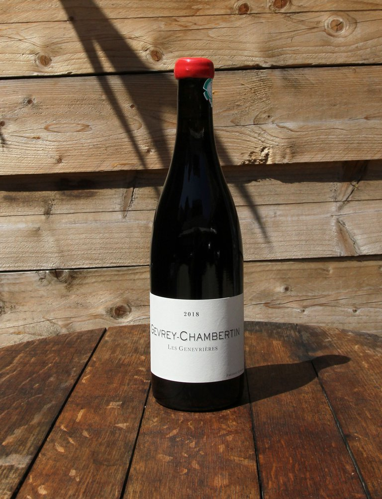 Gevrey Chambertin Les Genevrières Qvevris Rouge 2018, Frederic Cossard
