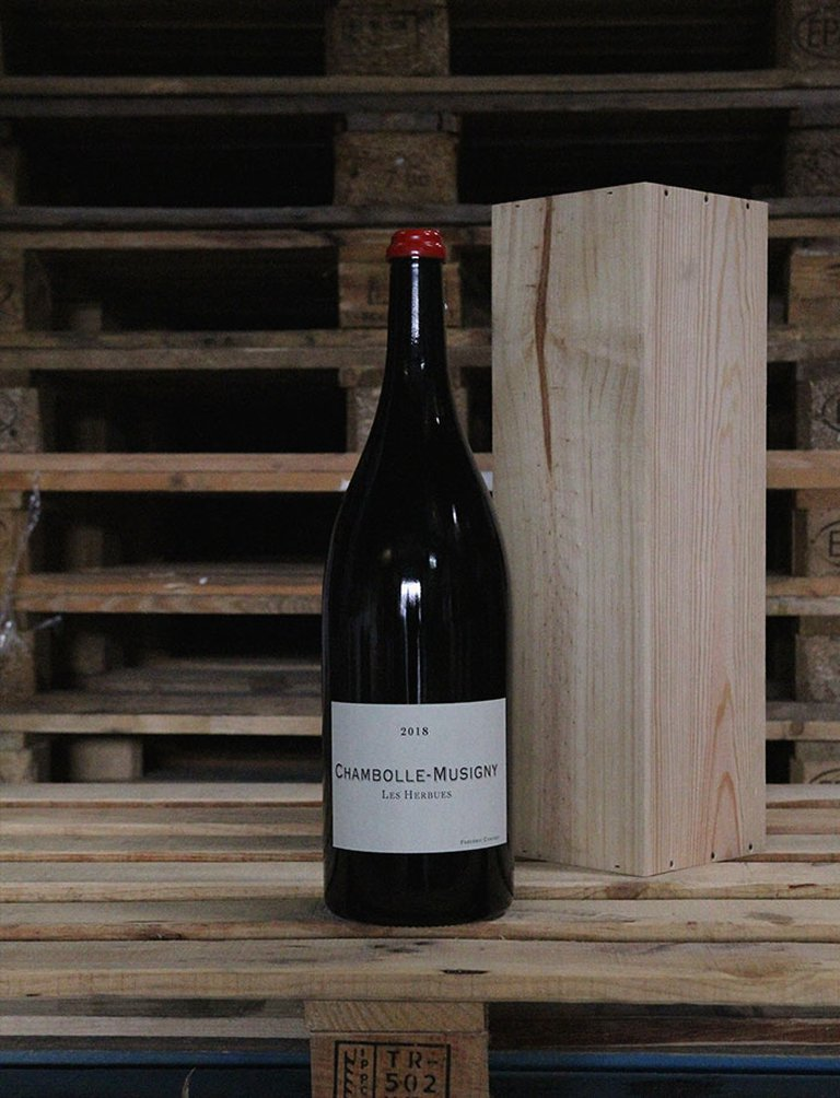 Jéroboam Chambolle Musigny Les Herbues Rouge 2018, Frédéric Cossard