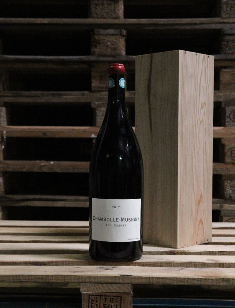 Jéroboam Chambolle Musigny Les Herbues Rouge 2017, Frédéric Cossard