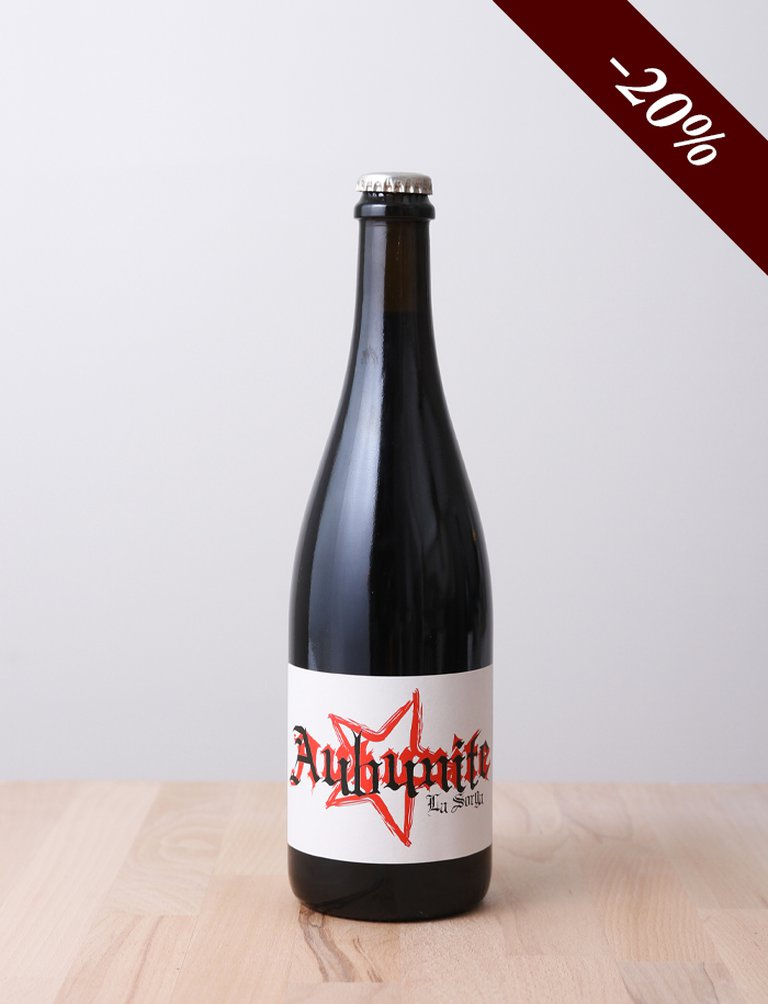 Aubunite Rouge Pétillant 2016, La Sorga